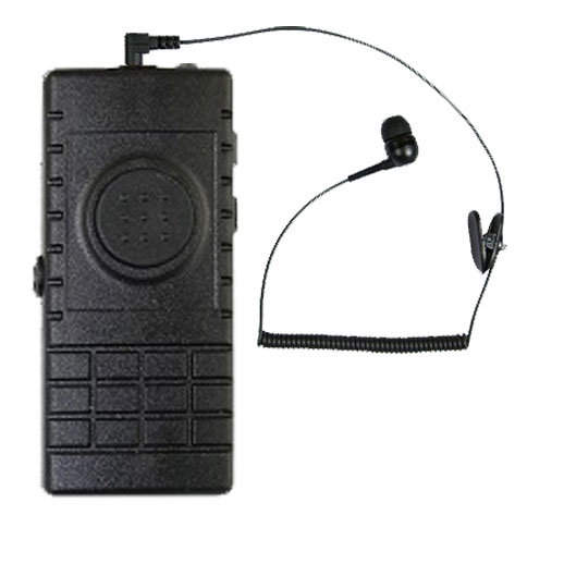 BTH-300 BlueTooth Microphone with Bud Style Earphone