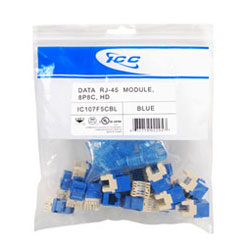 ICC Cat 5e, HD Modular Connector (Package of 25)