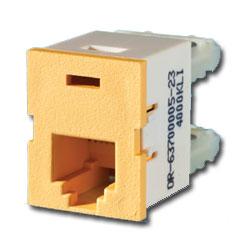 Legrand - Ortronics TracJack™ Module, Light Orange